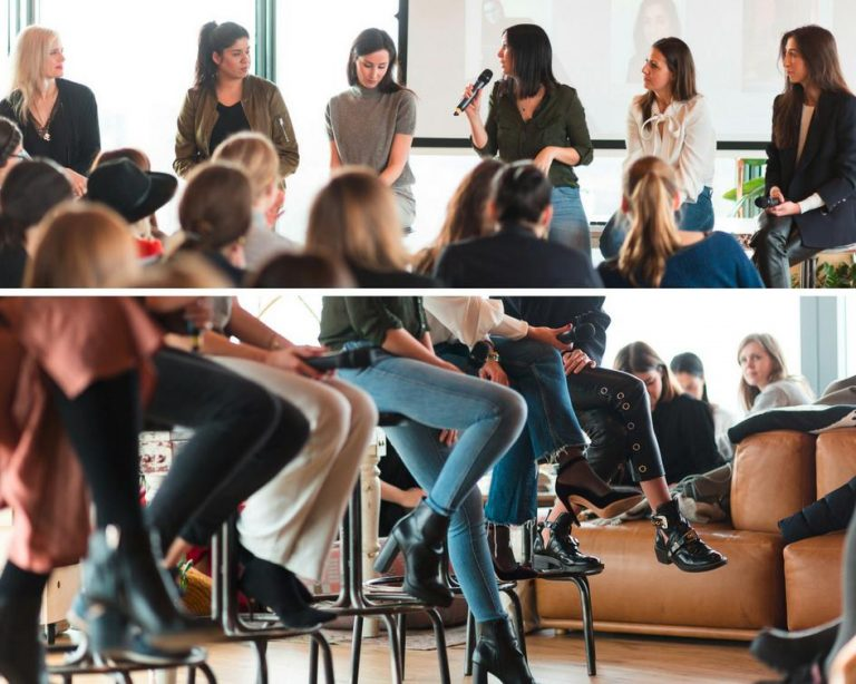 Internationaler Frauentag bei WeWork im Sony Center 2018