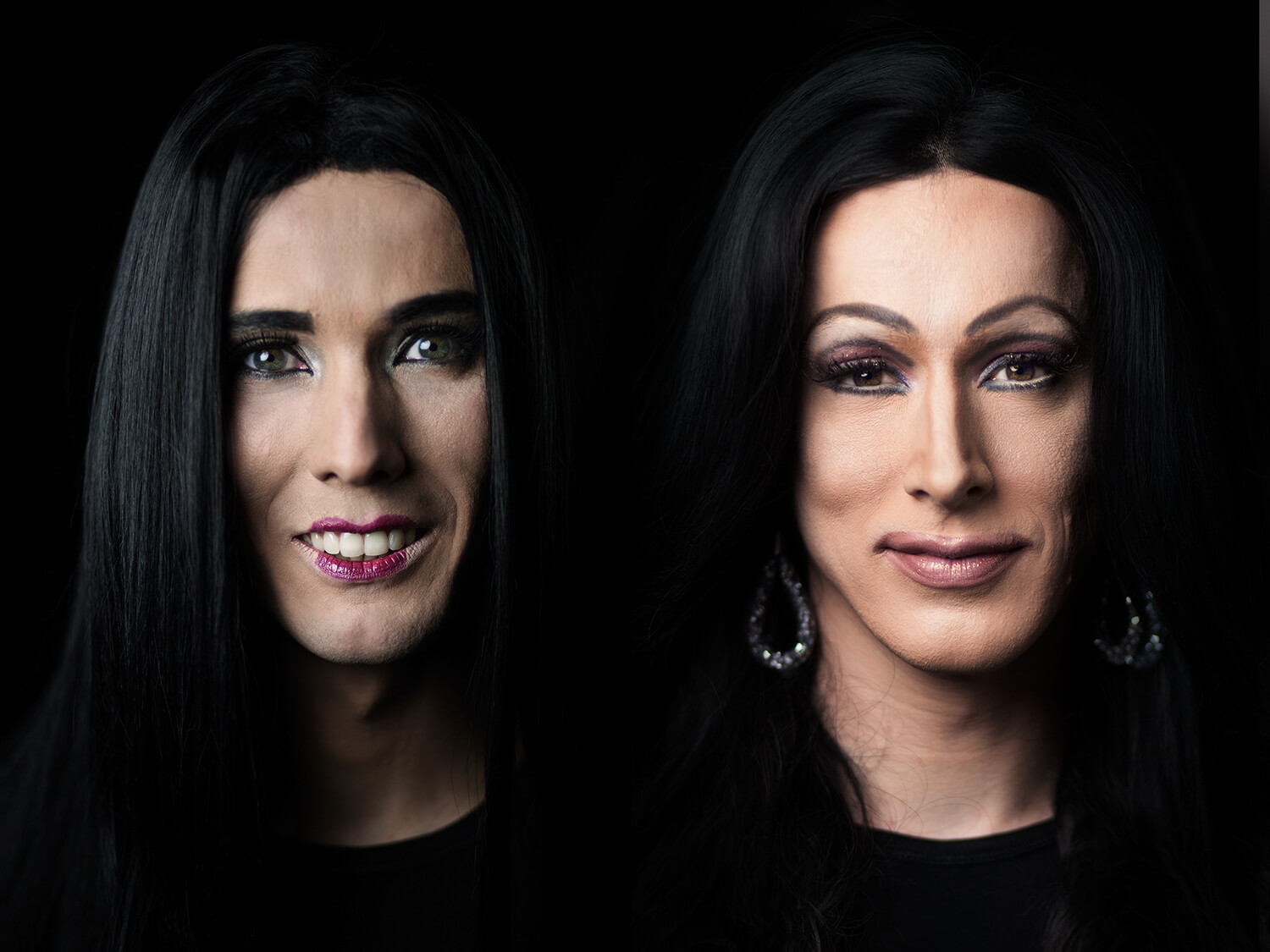 portrait photography with Drag performers in Berlin by photographer Caroline Wimmer