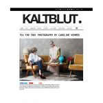 Kaltblut Fashion Editorial Model Story