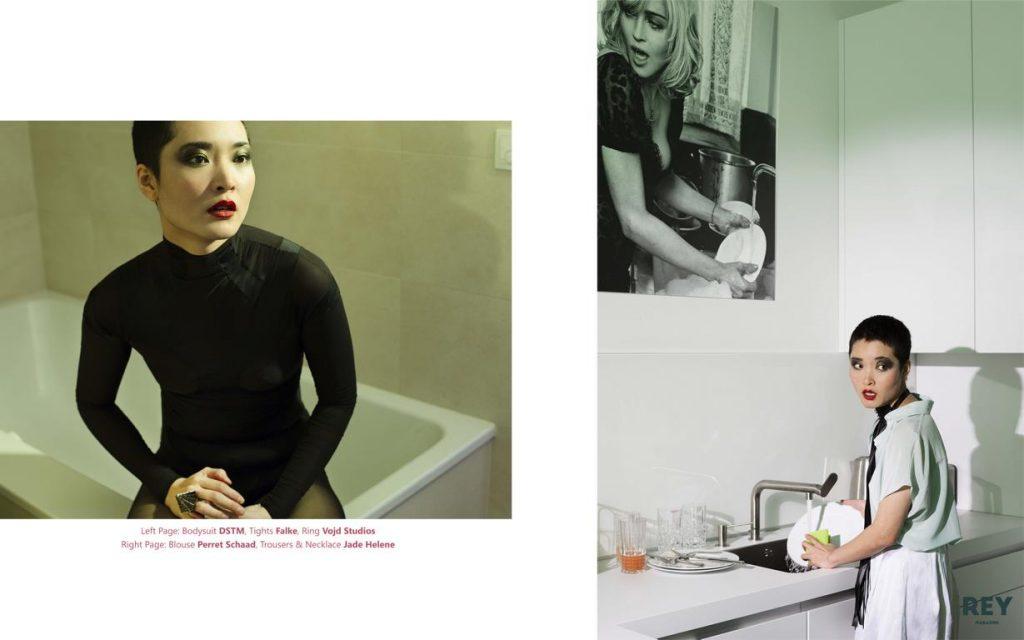 Fashion Editorial veröffentlicht im REY Magazine der Berliner Fotografin Caroline Wimmer