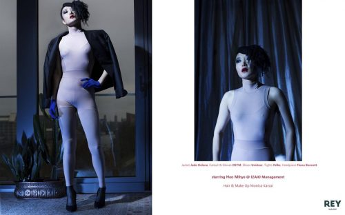 editorial fashion berlin magazine model