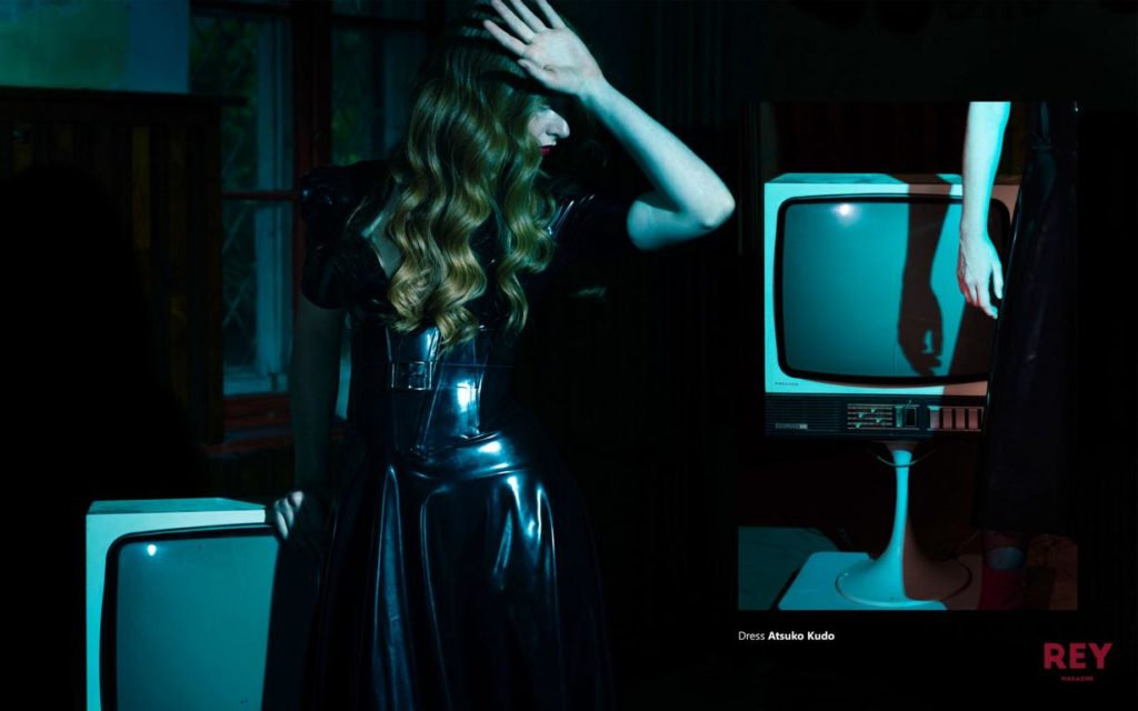 Fashion photography Editorial by Berlin photographer Caroline Wimmer published in Rey Magazine