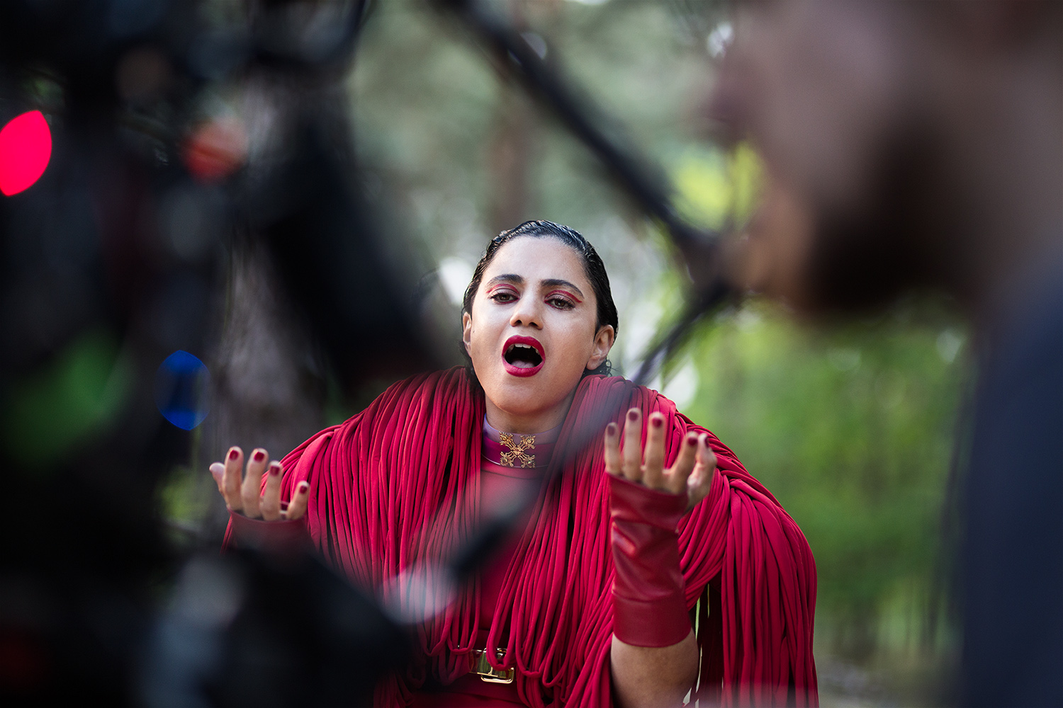 Stills photography at Music Video Shoot Rescuer for tunesian singer songwriter Emel Mathlouthi